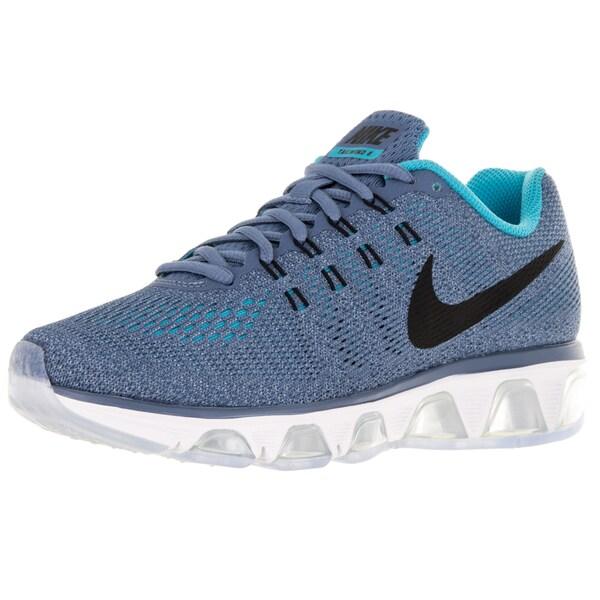 Nike Women's Air Max Tailwind 8 Ocean Fog/Black/Gmm Bl/Bl Running Shoe