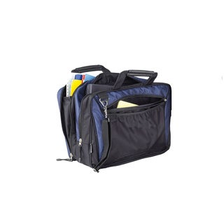 Goodhope Navy 15-inch Laptop Briefcase