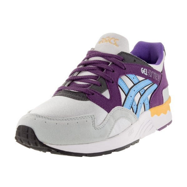 Asics Kid's Gel-Lyte V Gs Soft Grey/Light Blue Running Shoe