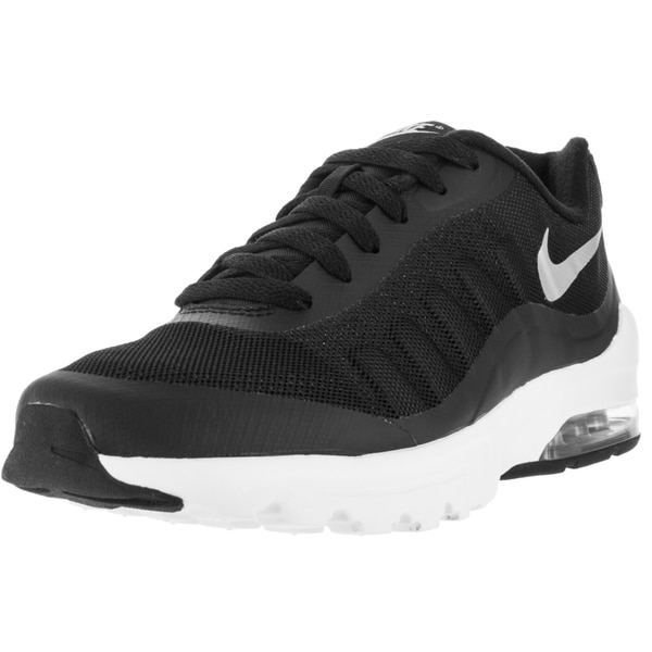 Nike Women's Air Max Invigor Black/Metallic Silver/White Running Shoe
