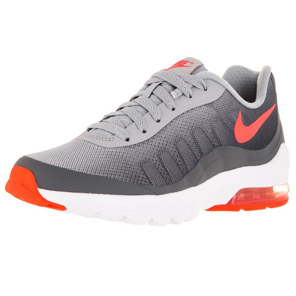 Nike Women's Air Max Invigor Print Wolf Grey/Brightt Mango/Dark Grey Running Shoe