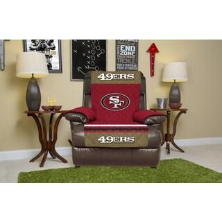 Licensed NFLSan Francisco 49ers Microfiber Recliner Protector