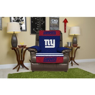 New York Giants Licensed NFLRecliner Protector