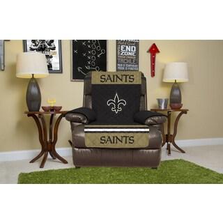New Orleans Saints Microfiber Licensed NFLRecliner Protector