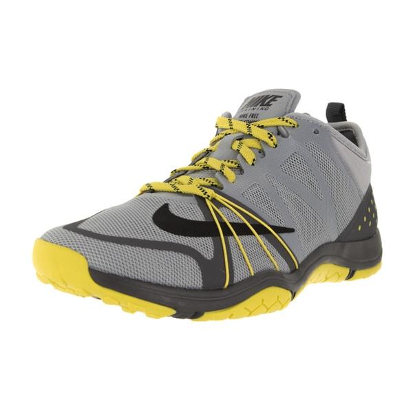 Nike Women's Free Cross Compete Wolf Grey/Black/Dark Grey/Opt Yllw Training Shoe