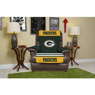 Licensed NFLGreen Bay Packers Polyester Recliner Protector
