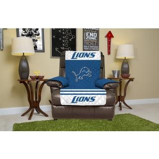 Licensed NFLDetroit Lions Polyester Recliner Protector