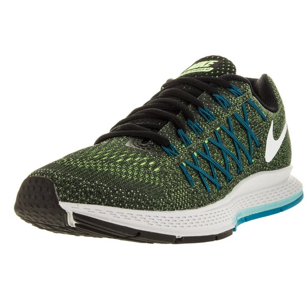 Nike Women's Air Zoom Pegasus 32 Ghost Green/White/Black Running Shoe