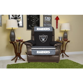 Licensed NFLOakland Raiders Microfiber Recliner Protector