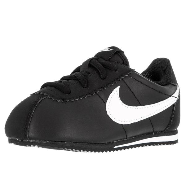 Nike Toddlers Cortez (Td) Black/White Running Shoe
