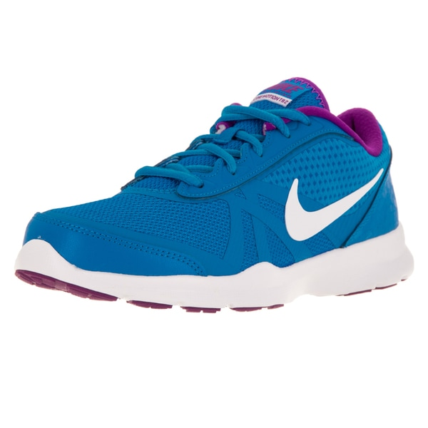 Nike Women's Core Motion Tr 2 Mesh Photo Blue/White/Hyper Violet Training Shoe