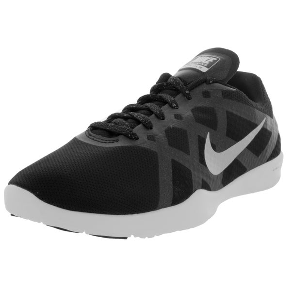 Nike Women's Lunar Lux Tr Black/Mlc Silver/White/Vlt Training Shoe