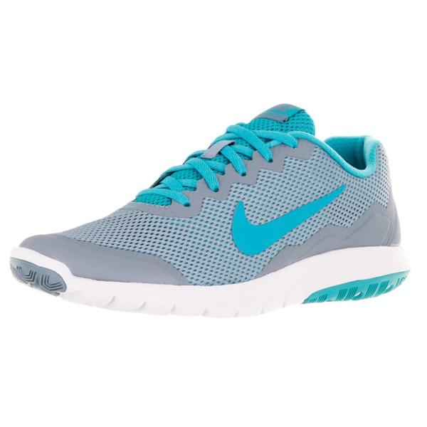 Nike Women's Flex Experience 4 Blue Grey/Gmm Bl/Gmm Bl/White Running Shoe