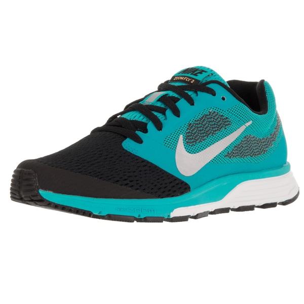 Nike Women's Air Zoom Fly 2 Gmm Bl/Metallic Silver/Lsr Orange/Black Running Shoe 19835897