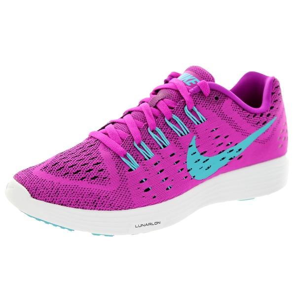 Nike Women's Lunartempo Fuchsia Flash/Clrwtr/Black/Why Running Shoe
