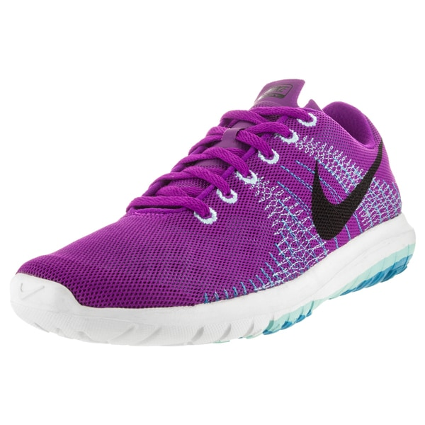 Nike Women's Flex Fury Vivid Purple/Black/Copa/ Running Shoe