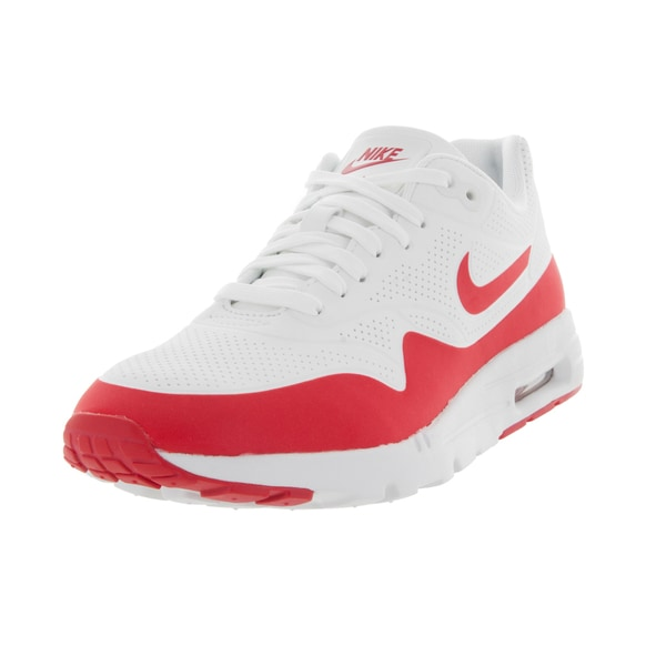 Nike Women's Air Max 1 Ultra Moire Summit White/University Red/White Running Shoe