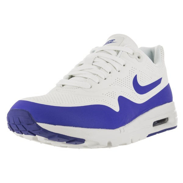 Nike Women's Air Max 1 Ultra Moire Summit White/Racer Blue/White Running Shoe