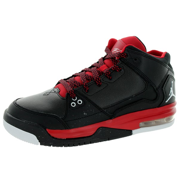 Nike Jordan Kid's Jordan Flight Origin Bg Black/White/Gym Red Basketball Shoe