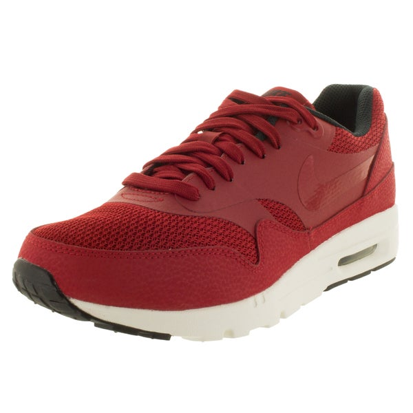 Nike Women's Air Max 1 Ultra Essentials Gym Red/Gym Red/Black/Sail Running Shoe