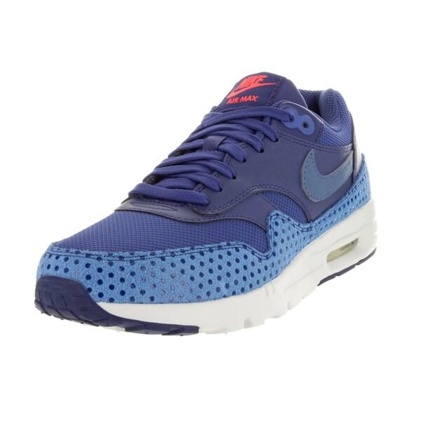 Nike Women's Air Max 1 Ultra Essentials Dk Purple Dst/Ocn Fg/Lyl Bl/Brgh Running Shoe