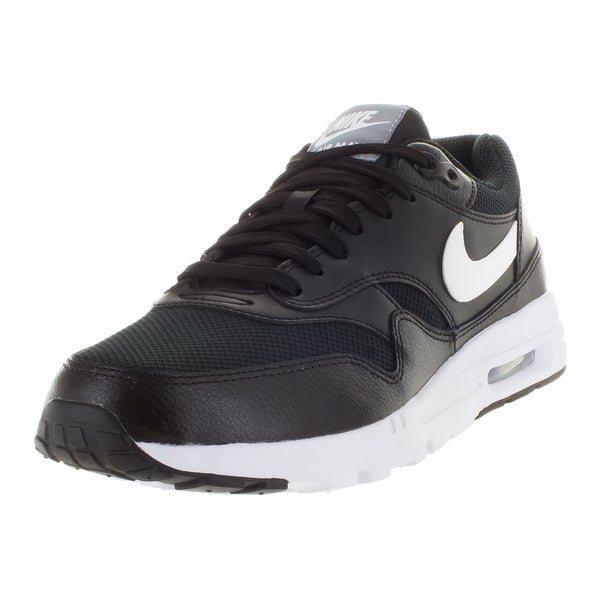 Nike Women's Air Max 1 Ultra Essentials Black/White/Stealth/ Running Shoe
