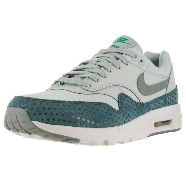 Nike Women's Air Max 1 Ultra Essentials Light Silver/Shrk/ Trq/Spg Running Shoe