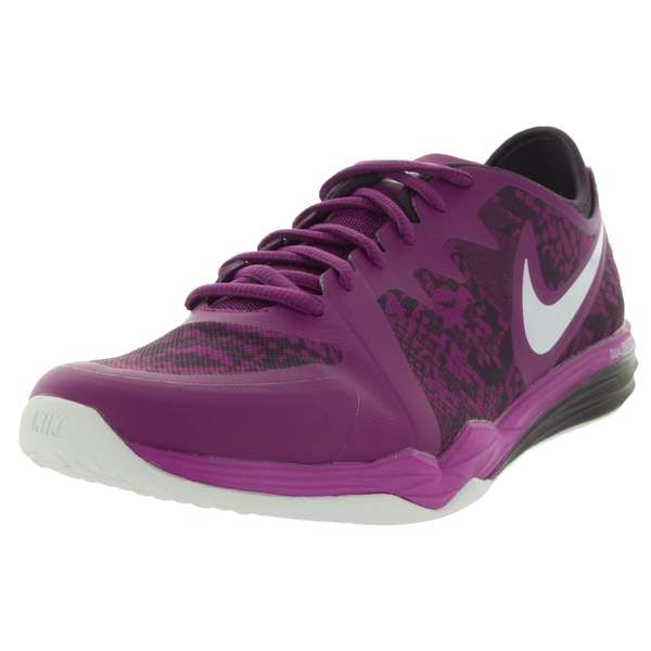Nike Women's Dual Fusion Tr 3 Print Purple Dusk/White/Noble Purple Training Shoe