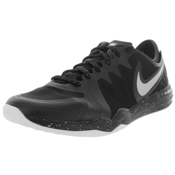 Nike Women's Dual Fusion Tr 3 Print Black/Metallic Silver/Anthrct/White Training Shoe