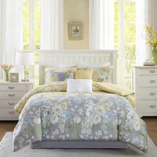Madison Park Addison Yellow Comforter Set