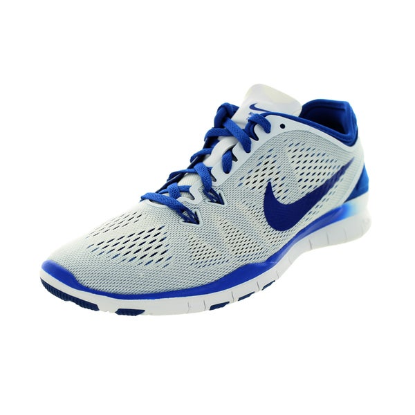 Nike Women's Free 5.0 Tr Fit 5 White/Game Royal Training Shoe