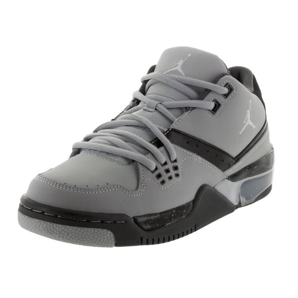 Nike Jordan Kid's Jordan Flight 23 Bg Wolf Grey/Black/Grey Basketball Shoe