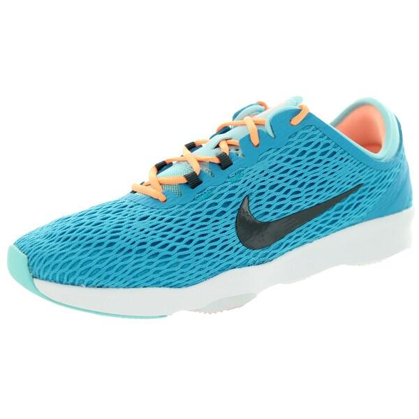 Nike Women's Zoom Fit Blue Lagoon/Dark Grey/Cp/White Training Shoe