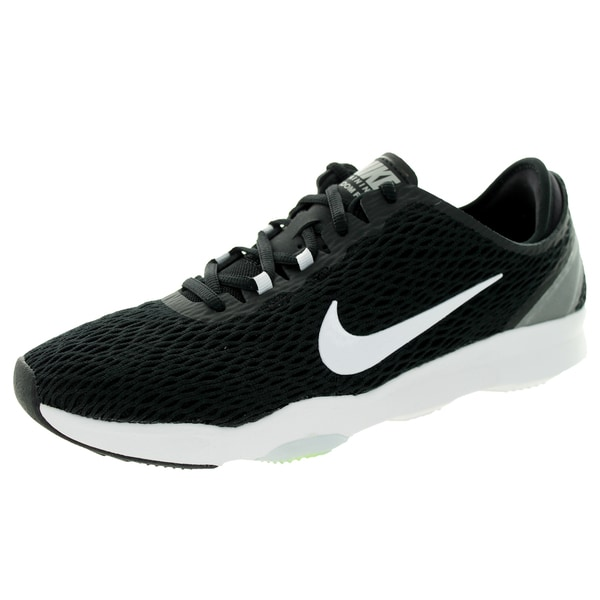 Nike Women's Zoom Fit Black/White/Volt Training Shoe