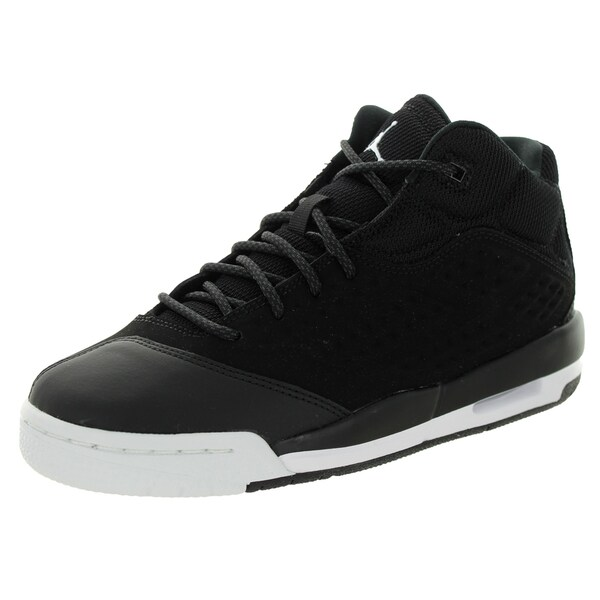 Nike Jordan Kid's Jordan New School Bg Black/White/Black Basketball Shoe