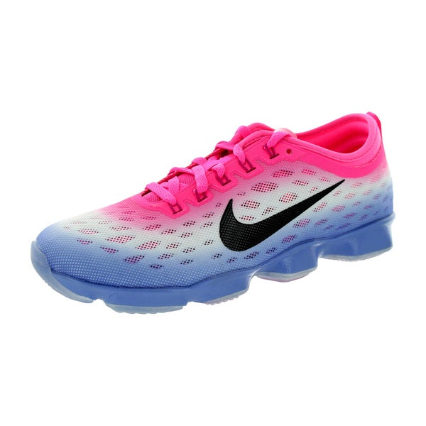 Nike Women's Zoom Fit Agility Pink Pow/Black/Polar/Fireberry Training Shoe