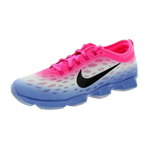 Nike Women's Zoom Fit Agility Pink Pow/Black/Polar/Fireberry Training Shoe