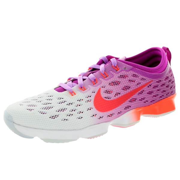 Nike Women's Zoom Fit Agility /Ht Lv/White Training Shoe