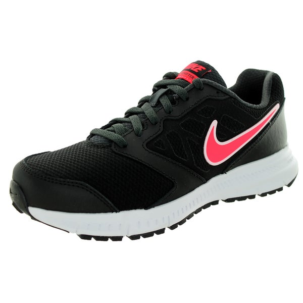 Nike Women's Downshifter 6 (Wide) Black/Hyper Punch/Anthracite Running Shoe