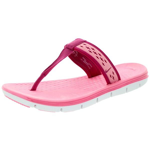 Nike Women's Celso Motion Thong Polarized Pink/Sprt Fchs/White Sandal