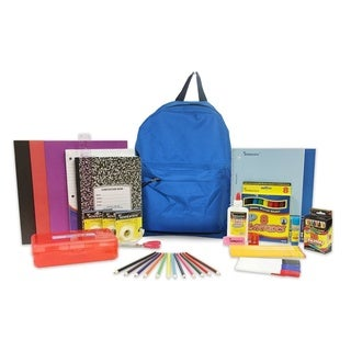 15-inch Backpack Filled with School Supplies