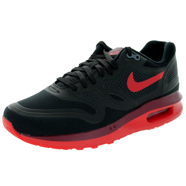 Nike Women's Air Max Lunar 1 Wr Black/Action Red/Team Red Running Shoe