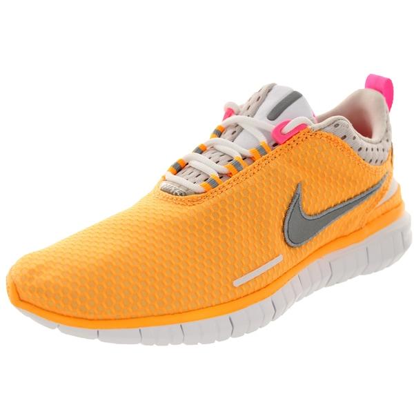 Nike Women's Free Og '14 Br Atmc Mng/Metallic Silver/Pink Glw/Lt Running Shoe 19838048