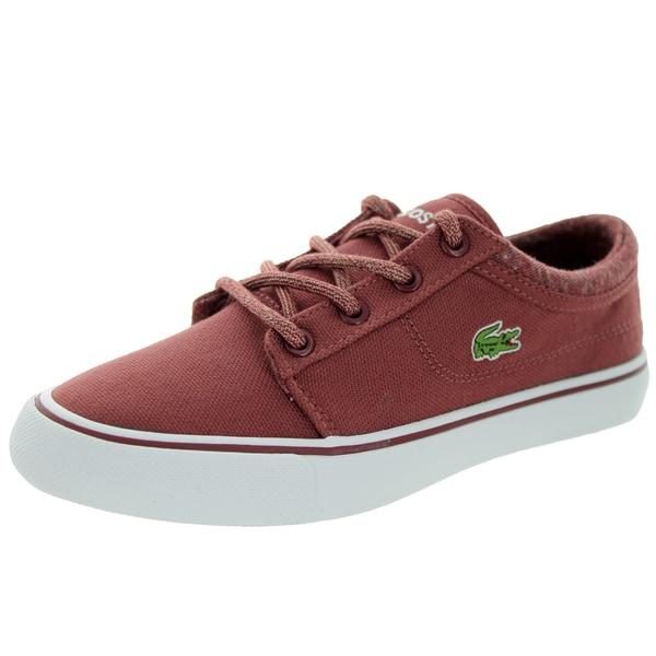 Lacoste Kid's Vaultstar Ww Spc Dk Red Red Casual Shoe
