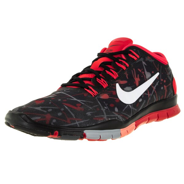 Nike Women's Free Tr Connect 2 Black/White/Brightt Crimson/ Training Shoe