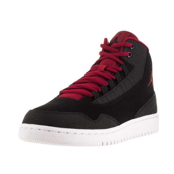 Nike Jordan Kid's Jordan Executive Bg Black/Gym Red/Gym Red/White Basketball Shoe