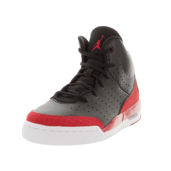 Nike Jordan Kid's Jordan Flight Tradition Bg Black/Gym Red/White Basketball Shoe