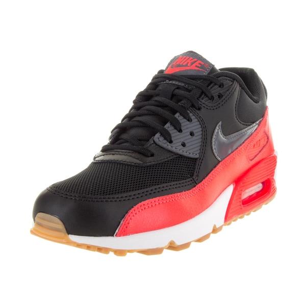 Nike Women's Air Max 90 Essential Black/Dark Grey/Brgh/Sl Running Shoe