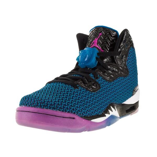 Nike Jordan Kid's Air Jordan Spike Forty Bg Black/Fr Pink/Orange Basketball Shoe