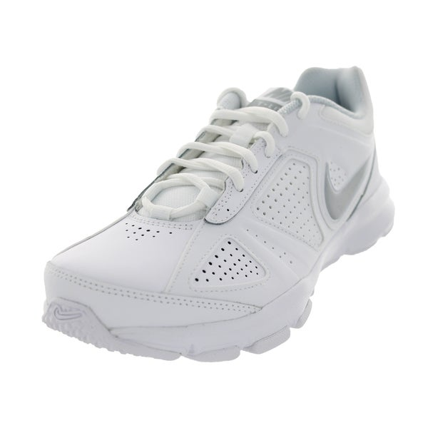 Nike Women's T-Lite XI White/Metallic Silver/Black Training Shoe